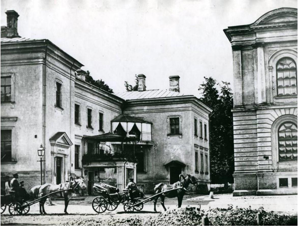 Дом канцелярии и счетоводской конторы Петровской академии и квартира директора