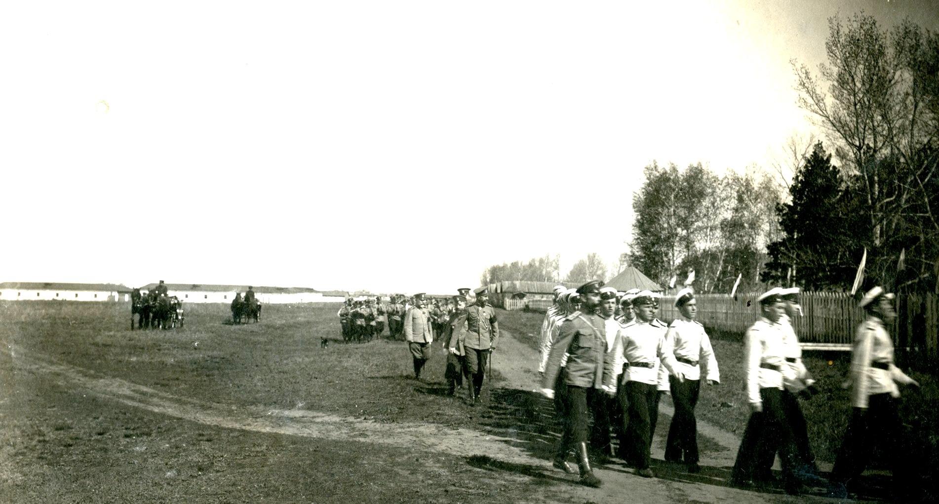 1909. Дорога в кадетский лагерь