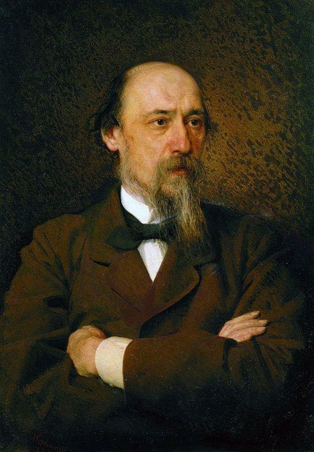 Портрет поэта Николая Алексеевича Некрасова. 1877.jpg