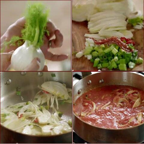 Рыбное блюдо в соусе