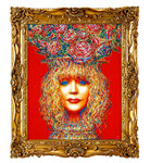 Портрет Аллы Пугачёвой в образе сицилианской вазы 2