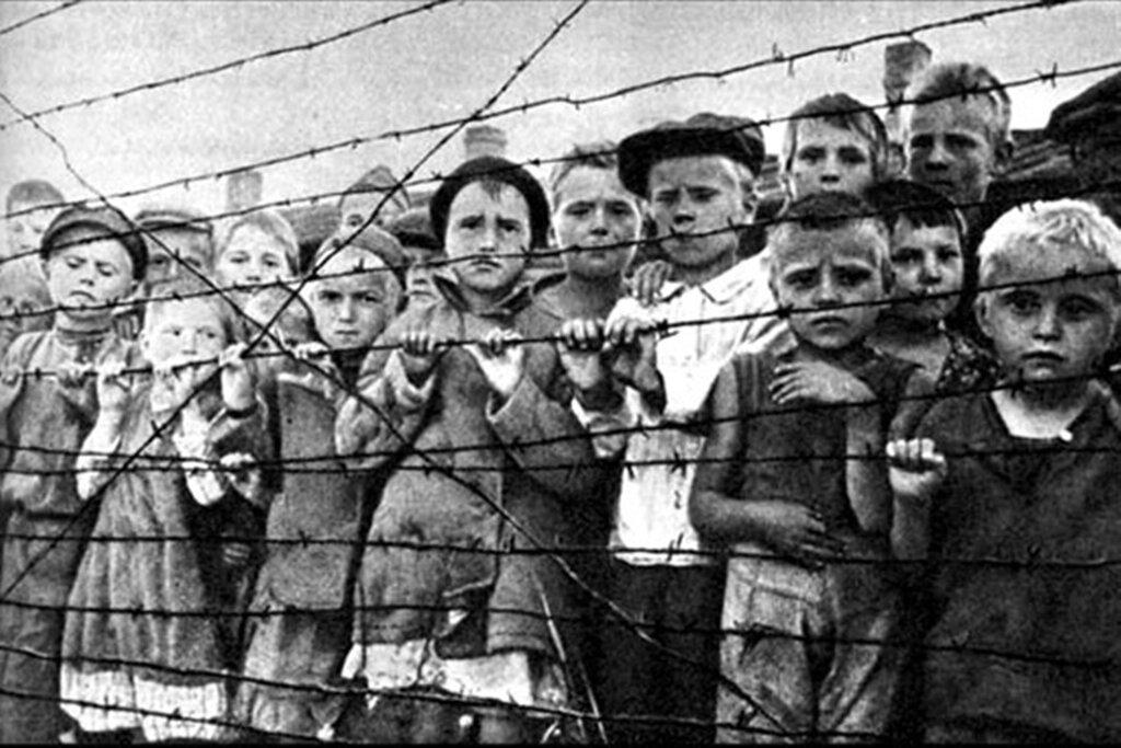 Детский концлагерь в Латвии
