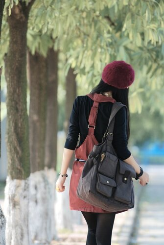 сумки большие через плечо женские фото