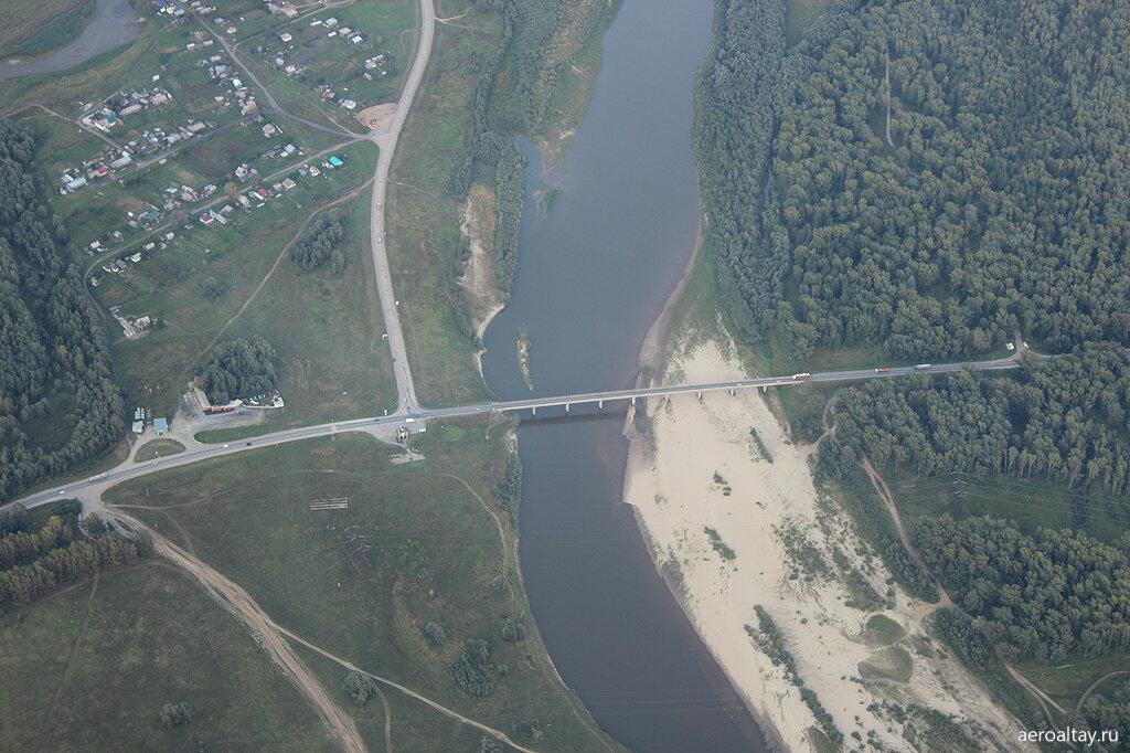 Мост через Чумыш в Тальменке