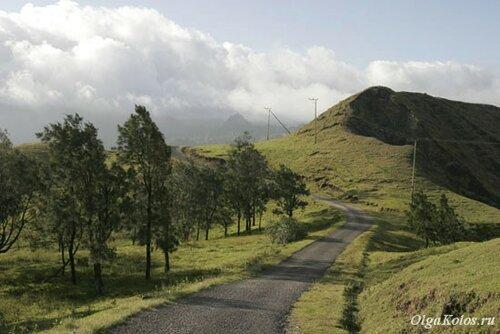 Дорога в горную деревню Фатумнаси