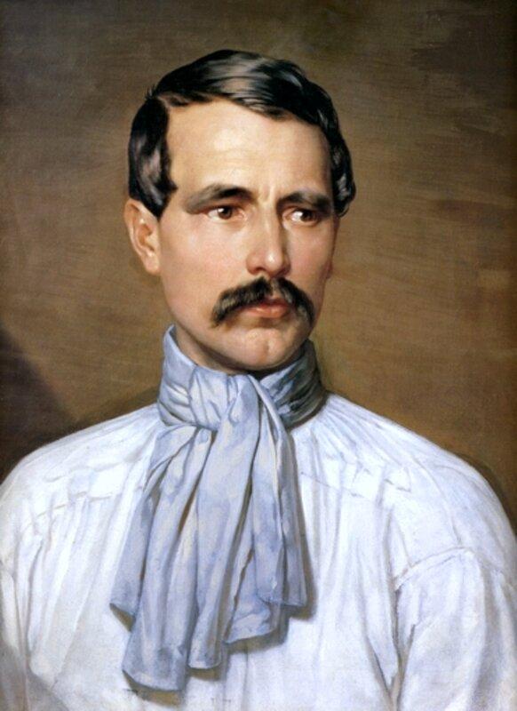 Мужской портрет, Алексей Тыранов, живопись