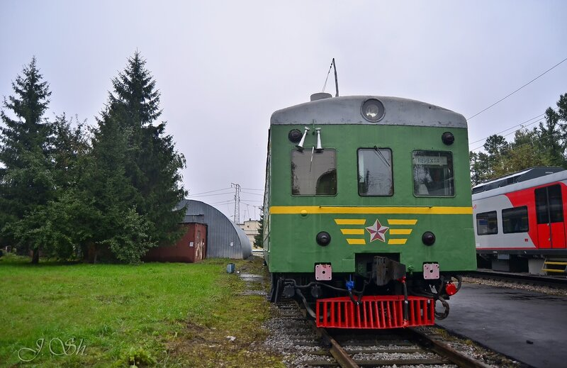 """Ср3-21668 с табличкой """"Нерехта"""""""