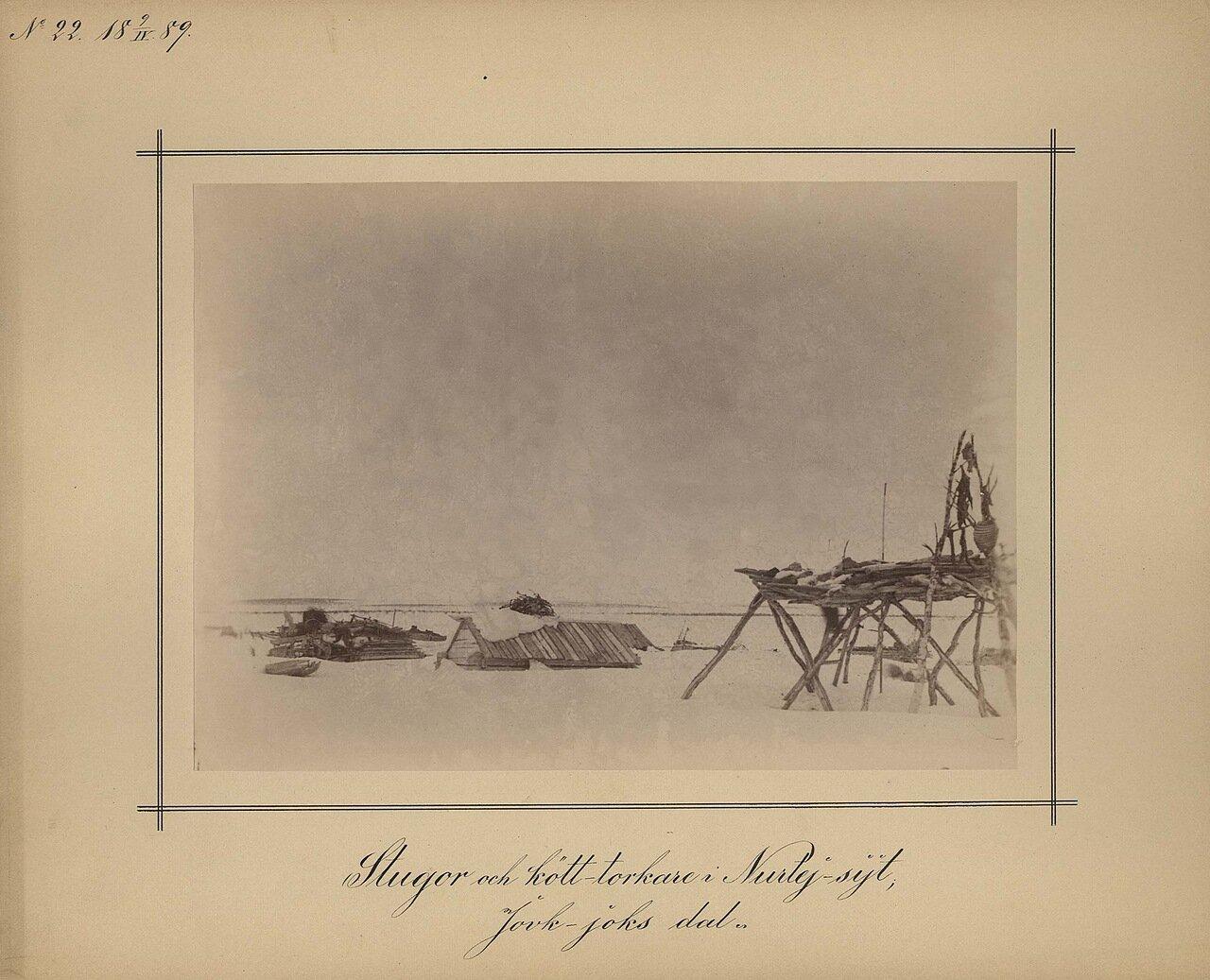 9.4.1889. Сушка мяса в Семиостровске