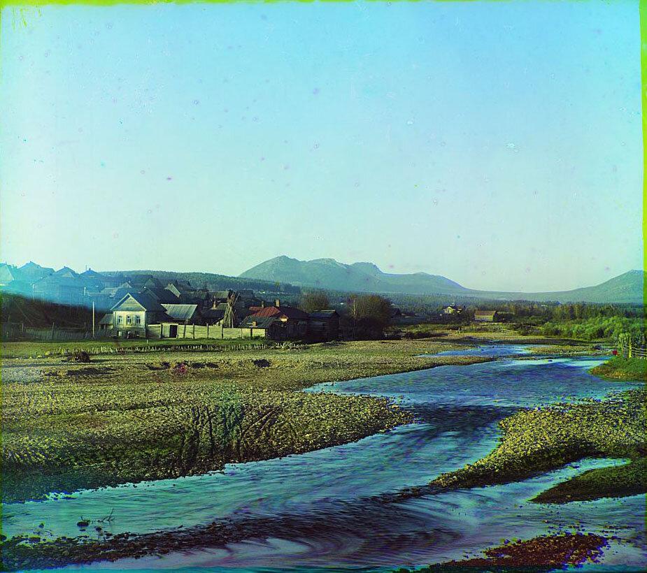 Селение Ветлуга. Река Тесьма. Близ Златоуста