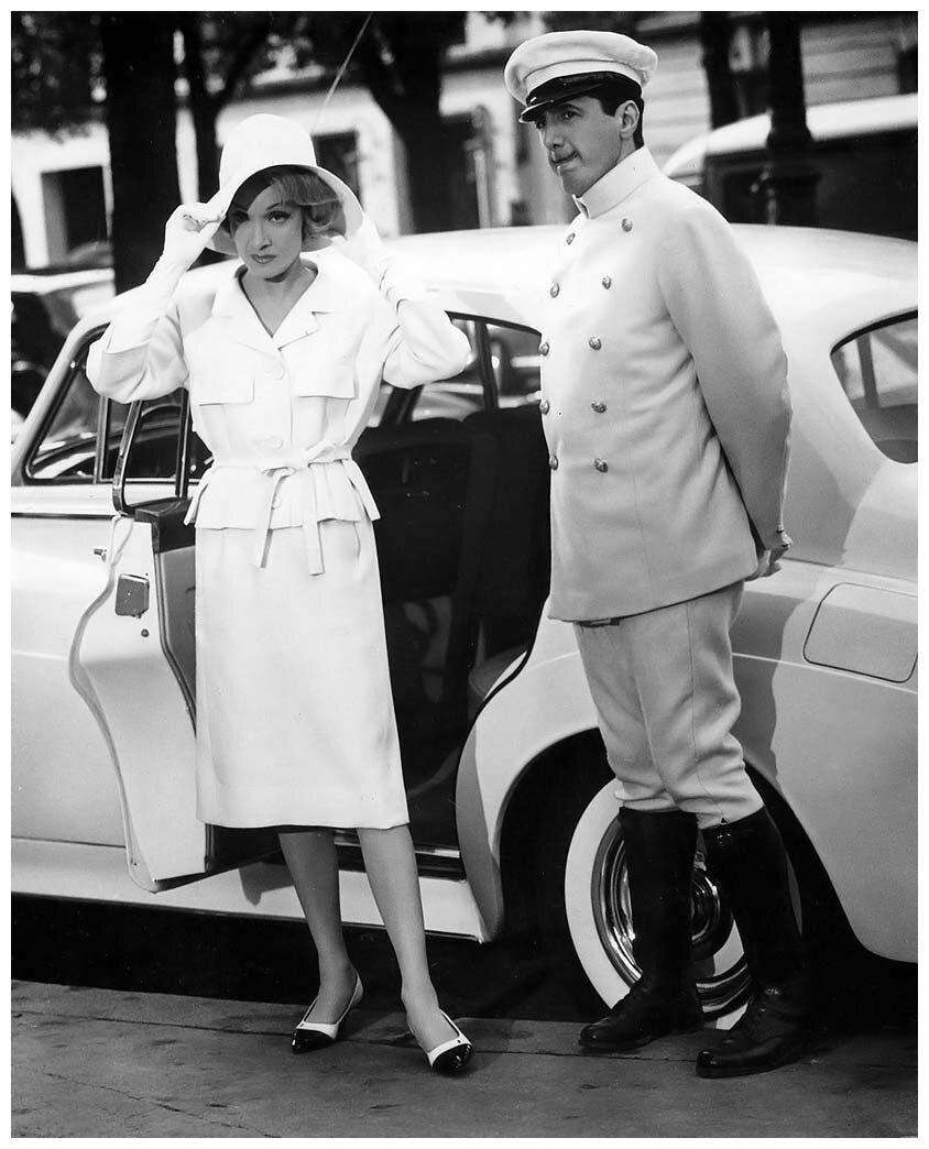 1962. Марлен Дитрих. Париж