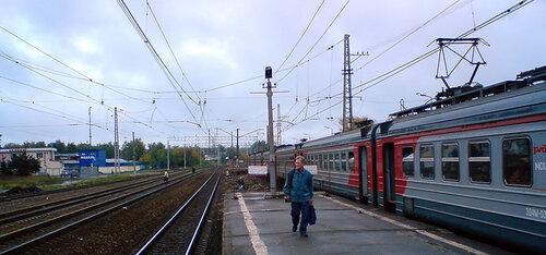 Ремонт платформы №1 на станции Хотьково