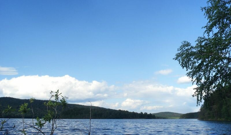 Озеро Кысыкуль - брат Тургояка (22.07.2013)
