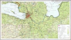 карта, ленинградская область, 1939