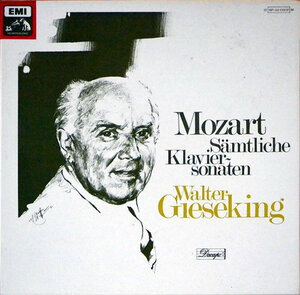 W.A. Mozart. Sämtliche Klaviersonaten (1979) [EMI, 1C 197-03 136]