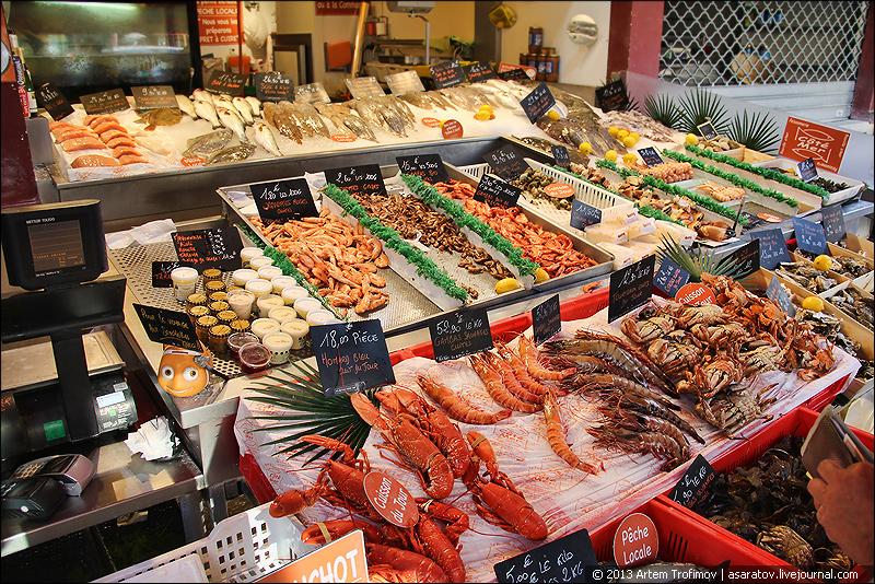 Изобилие морских деликатесов
