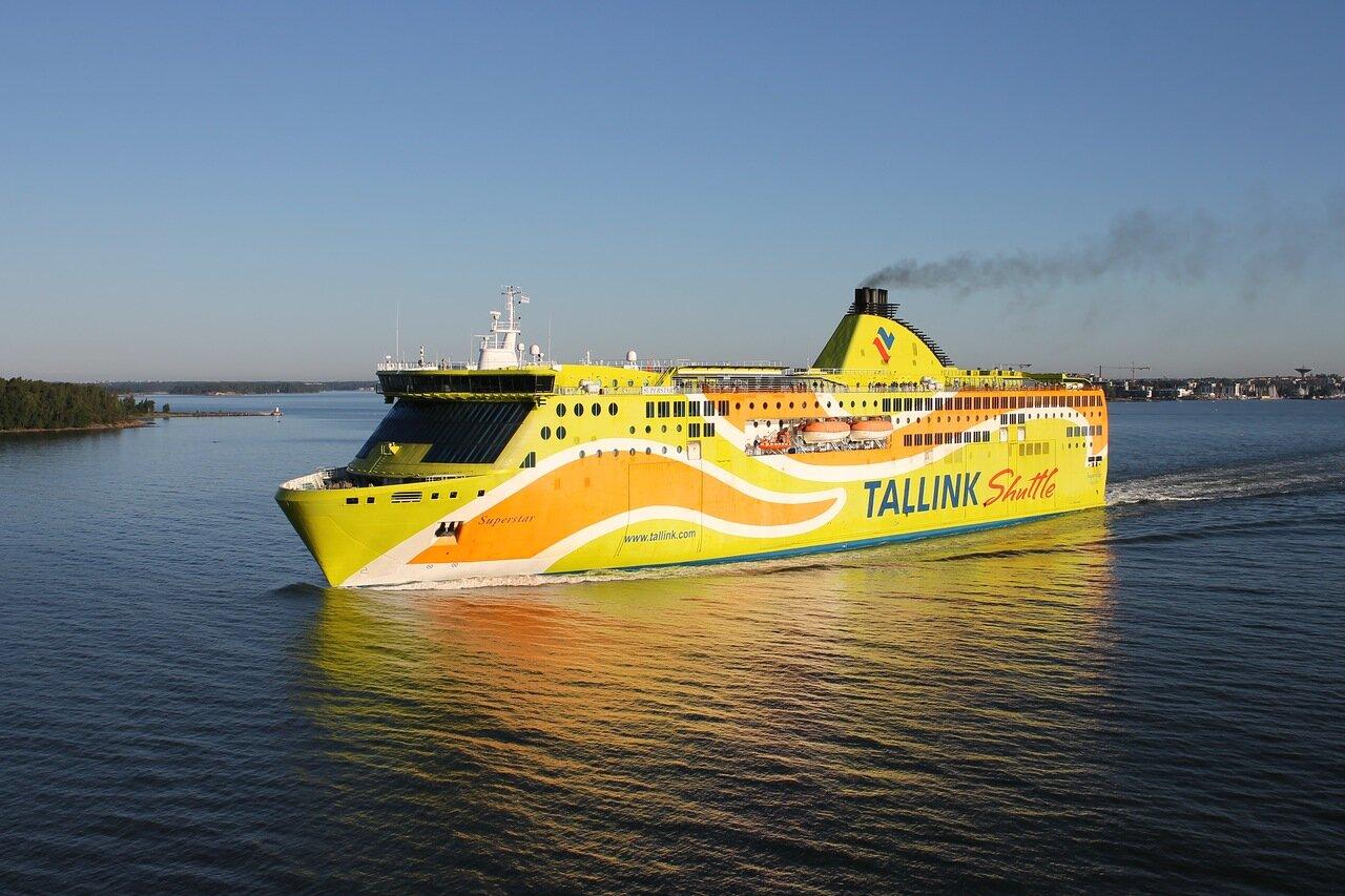 Финские шхеры, Паром Tallink Shuitte
