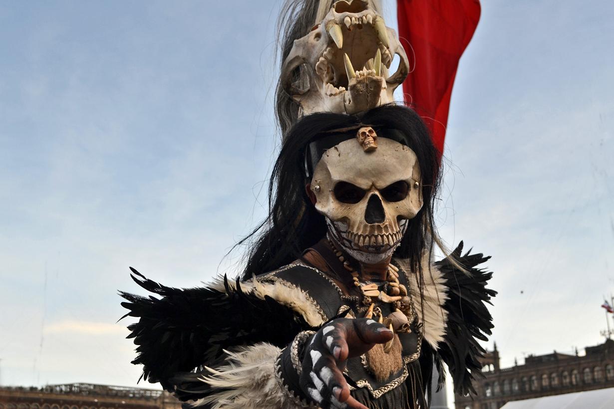 8 место. День Мёртвых. Отмечается ежегодно 1 и 2 ноября в Гватемале, Гондурасе, Мексике и Сальвадоре
