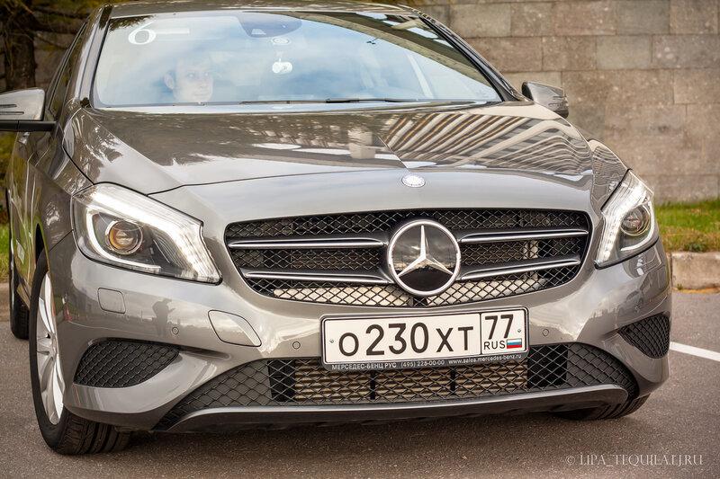 Пульс нового поколения - тест драйв от Mercedes-Benz