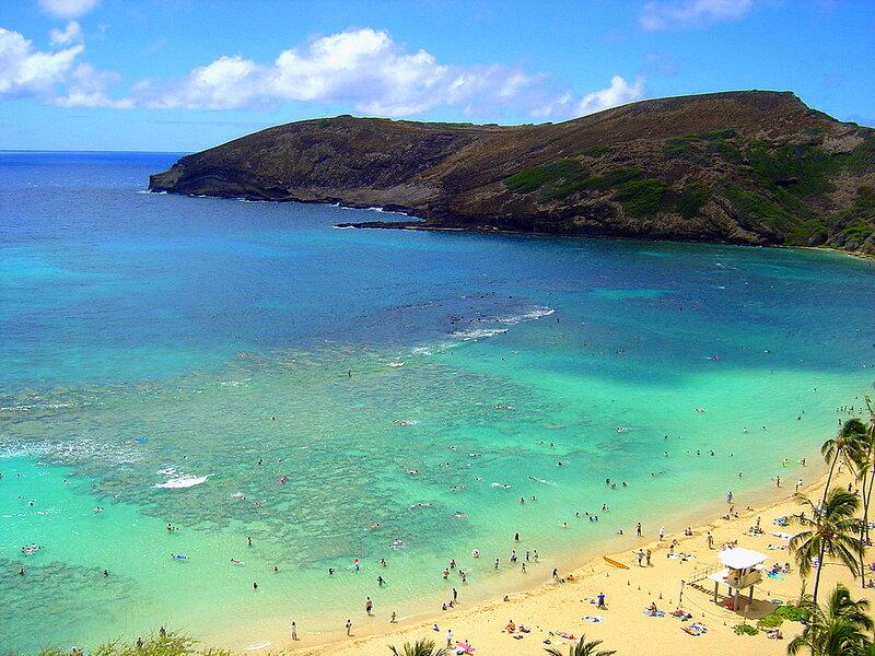 На Гавайях...
