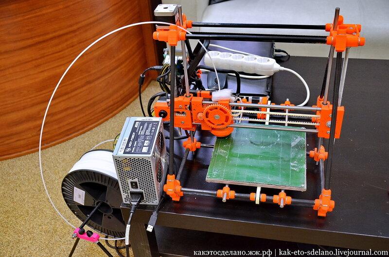 Как работает d принтер