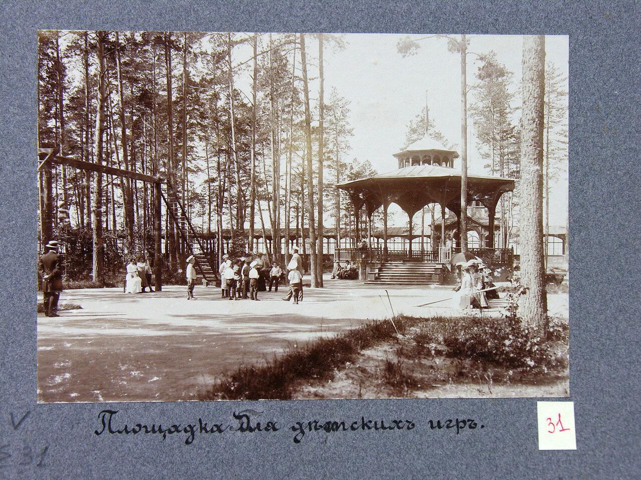 Площадка для детских игр