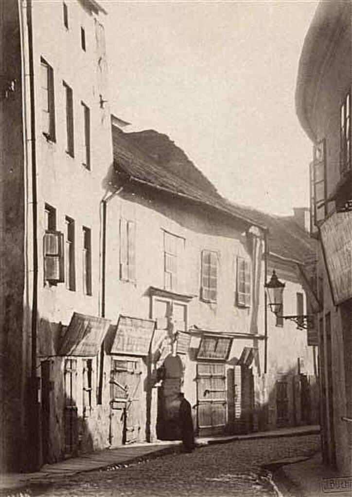 Еврейская улица.  1912