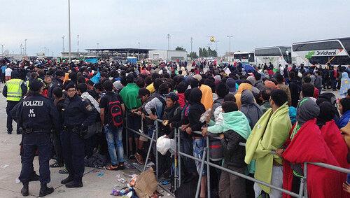 Австрия выстроила забор со Словенией в зоне Шенгена