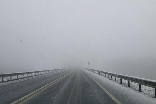 Выпавший в Молдове снег не создал препятствий на дорогах