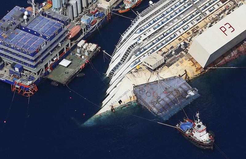 ITALY-COSTA-SHIP
