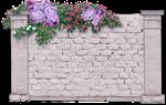 изгородь  из камня  и   цветы.png