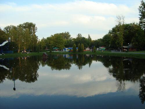 Отдых в Беларуссии: Брест, ЦПКиО