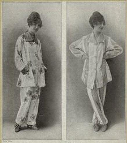 Про пижаму. История появления пижамы
