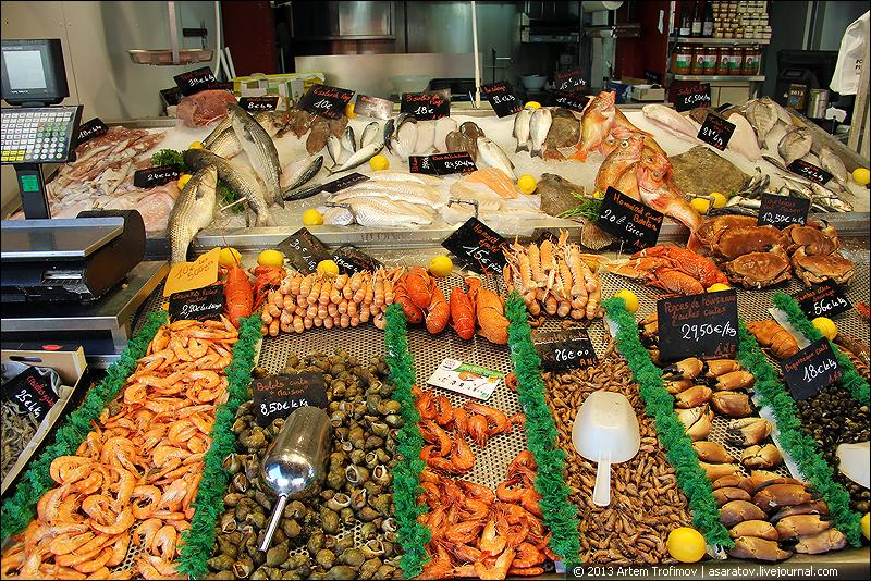 натюрморт с морепродуктами
