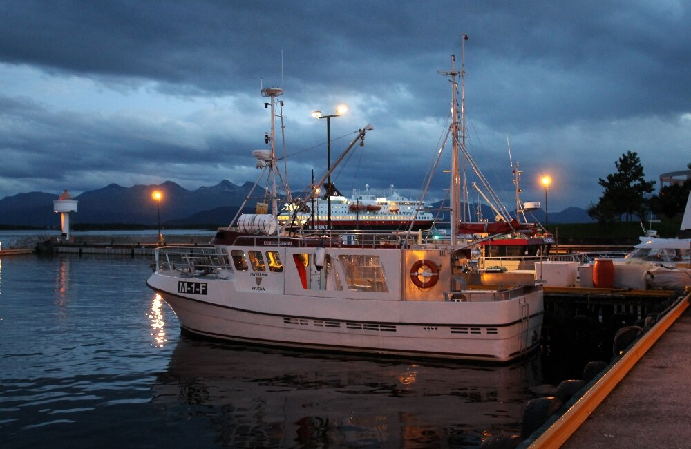 Molde, fishing port