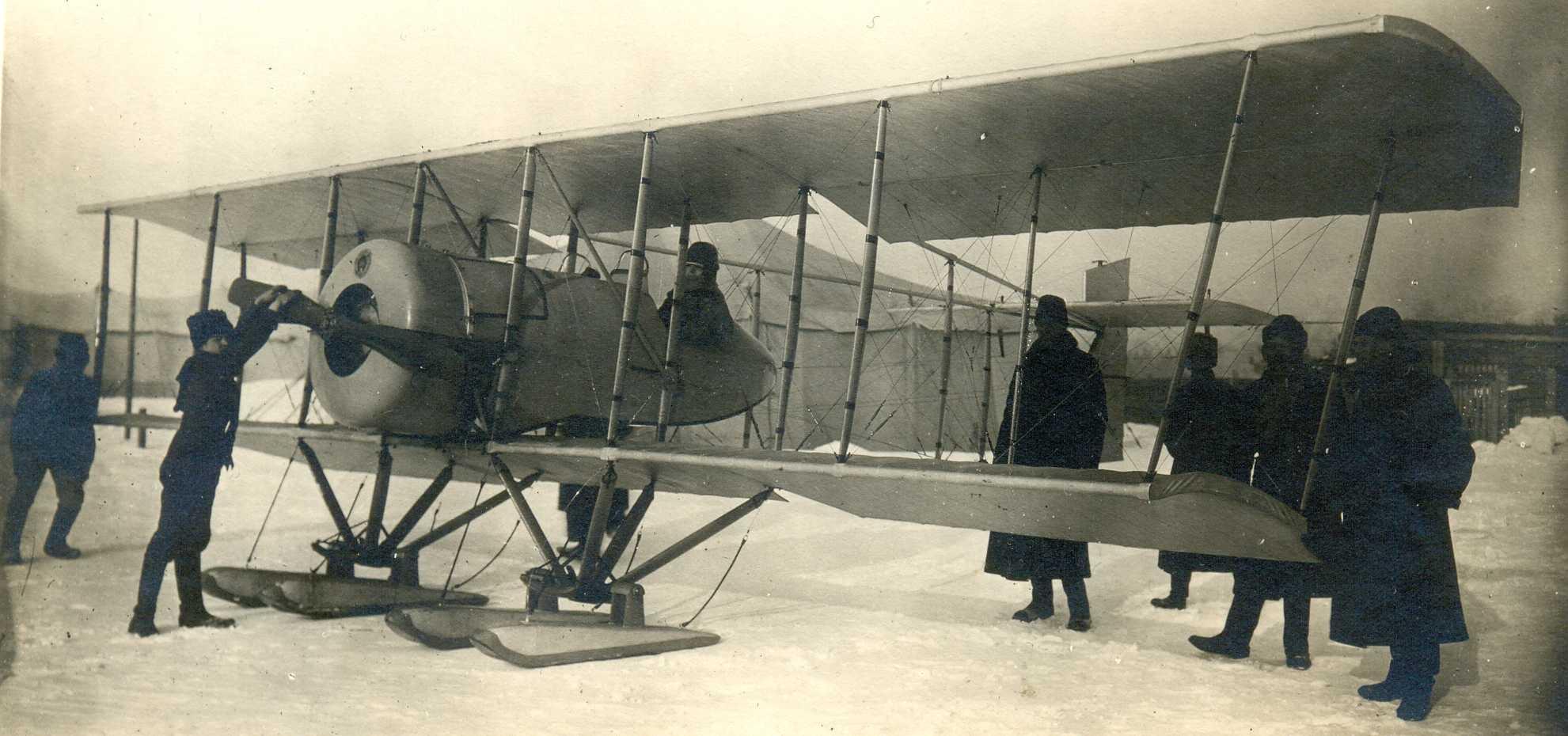 Самолет ВВС России. Первая мировая война..jpg