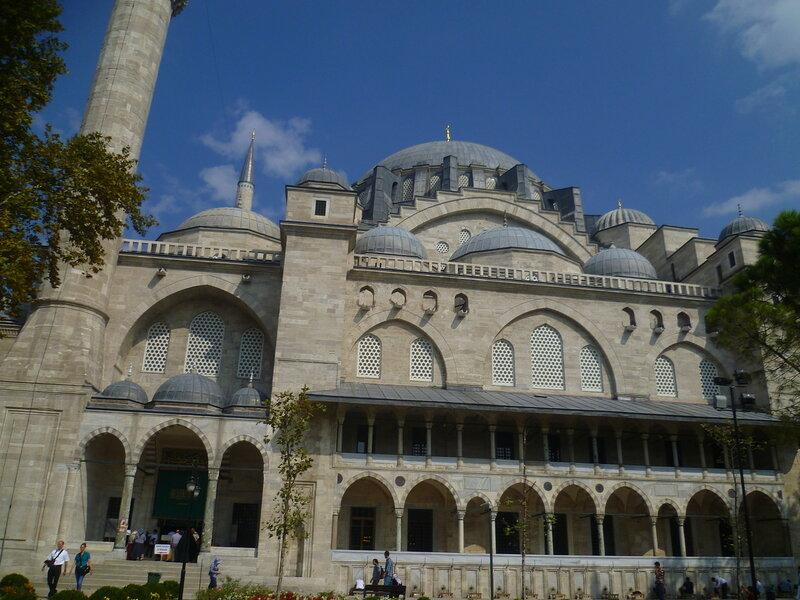 Стамбул. Мечеть Сулеймание (Istanbul. Suleymaniye Mosque).