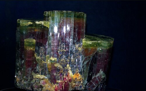 Соль земли! Потрясающей красоты минералы. Турмалин