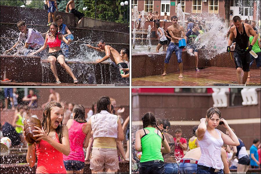 Водный батл в Саранске | Water Battle in Saransk