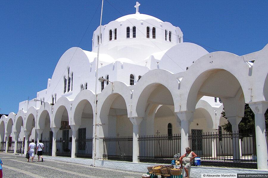 Церковь Сретения в Фире, Санторини, Греция