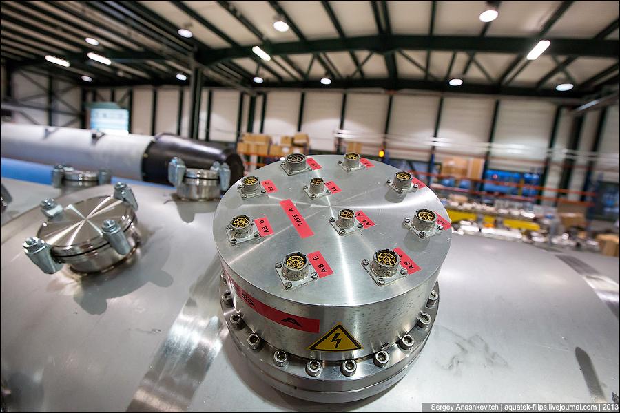 Завод магнитов для LHC