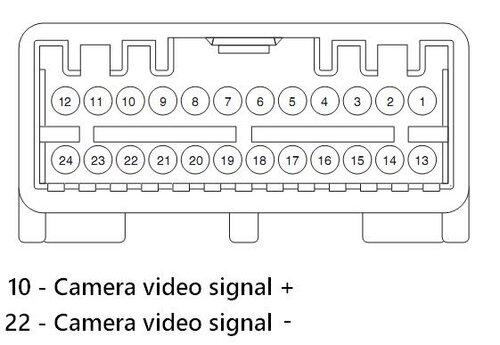 Схема для подключения камеры