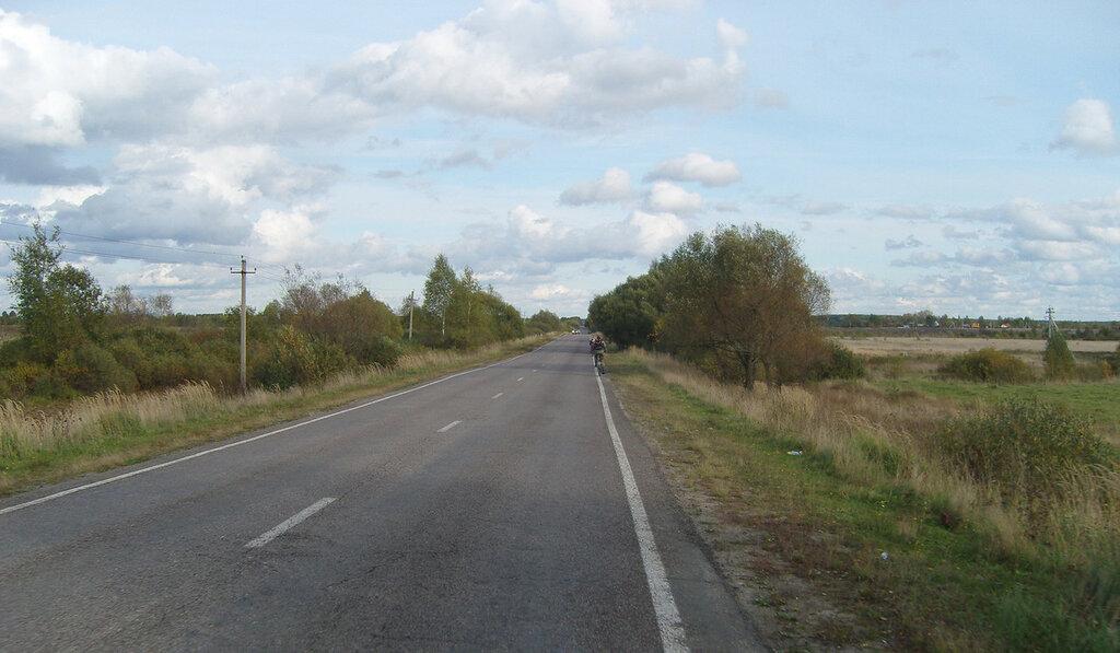 на шоссе у Саввино