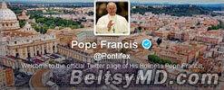 Папа Римский отпустит грехи в Твиттере