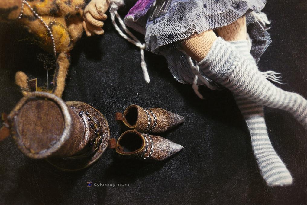 Текстильная шарнирная кукла Мирра и Тигрюля. Circus lover. , подарок, куклы, красиво, рукоделие, игрушки, hand-made, текстильная кукла, стиль, авторская кукла, интерьерные куклы, игрушки ручной работы, необычные куклы, выкройки, kykolniy-dom, кукла по фото, кукла с портретным сходством, портретная текстильная кукла