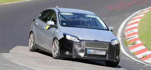Ford Focus испытывает новые сборки