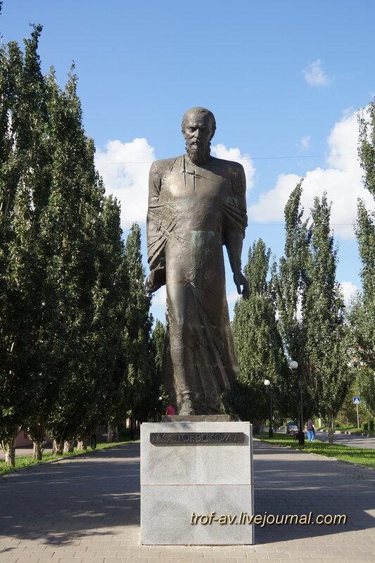 Памятник Ф.М. Достоевскому, Омск