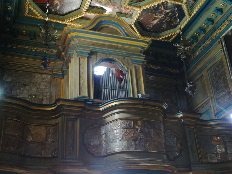 Орган в Храме. Черногория