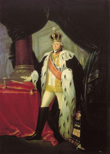 Портрет Павла I в одеянии гроссмейстера Мальтийского ордена, 1801.