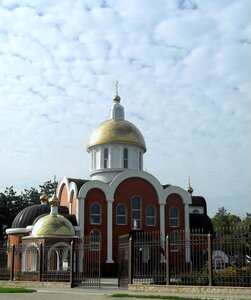 Храм в станице Бриньковской ... Велопробег, сентябрь