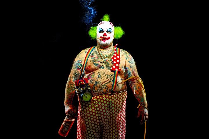 мим-извращенец Raunch-O - The pantomime Pervert by Matt Barnes